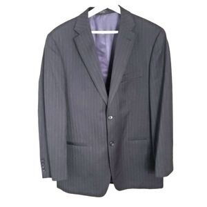 Jones New York Suits & Blazers - Jones New York Classic Blue Pinstripe 40R Blazer